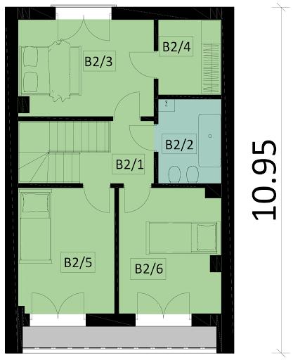 Ka41S - Rzut piętra