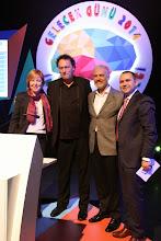 Photo: Soldan sağa: Ufuk Tarhan,Gerd Leonhard, Cem Tarık Yüksel, Murat Şahin