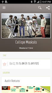 ACL Music Fest Official App- screenshot thumbnail