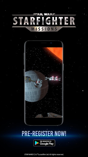 Star Wars™: Starfighter Missions apkdemon screenshots 1