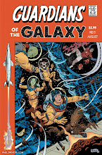 Photo: GUARDIANS OF THE GALAXY #6 VARIANT COVER. 2013. Ink(ed by Joe Rivera) on bristol board with digital color, 11 × 17″.