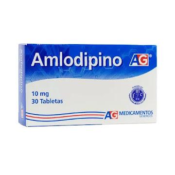 Amlodipino 10Mg CJ X 30