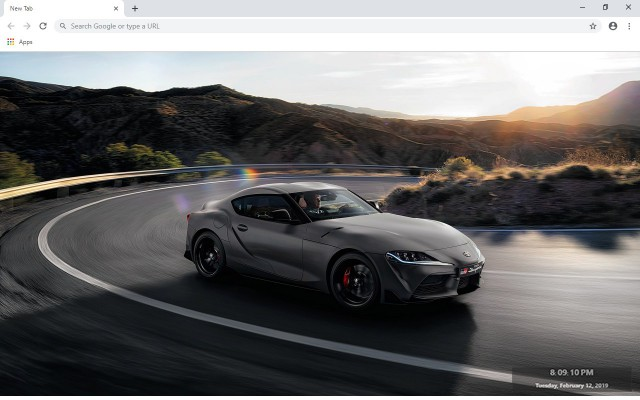 Toyota Supra New Tab & Wallpapers Collection