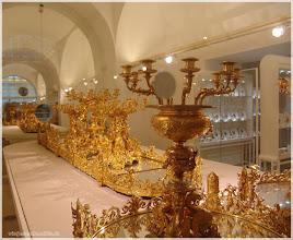 Photo: Hofsilber-und Taferlkammer. Museo .Viena .http://www.viajesenfamilia.it/