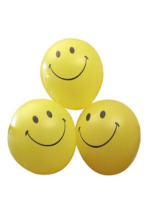 Smileballonger, 6 st