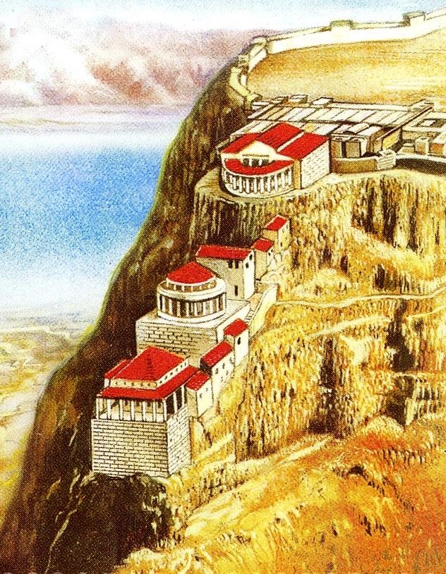 Экскурсия в Крепость Масада