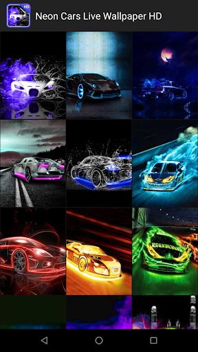 Neon Cars Live Wallpaper HD 2.8 screenshots 2