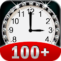 100+ Clocks Widget + Extras icon