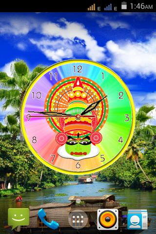 Onam Clock