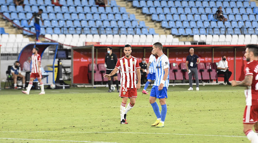 Callejón en el partido ante el Málaga.