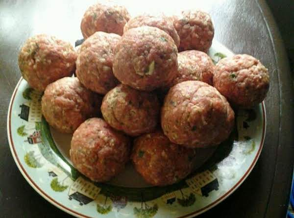 Best Meatballs In The World! Pops! Recipe