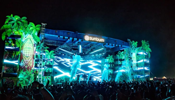 فستیوال Sun Burn 2019 هندوستان بزرگترین فستیوال موسیقی در آسیا