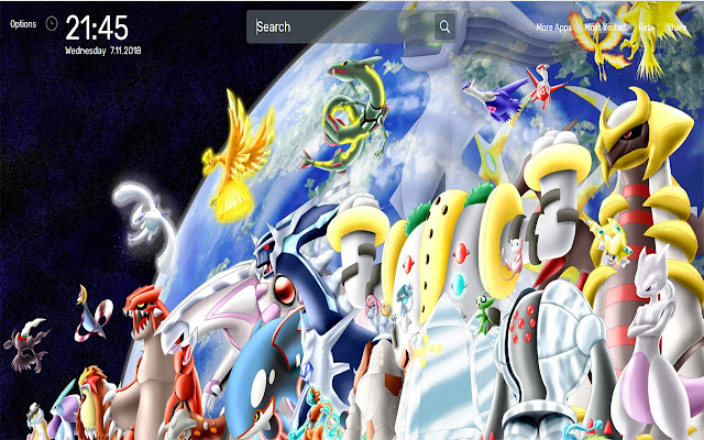 Pokemon Rayquaza Wallpapers HD Theme