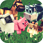 Animals Craft: Block World Exploration & Design Icon