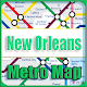 Download New Orleans US Metro Map Offline For PC Windows and Mac