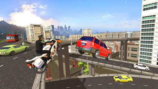 Police Bike Racing Free for PC