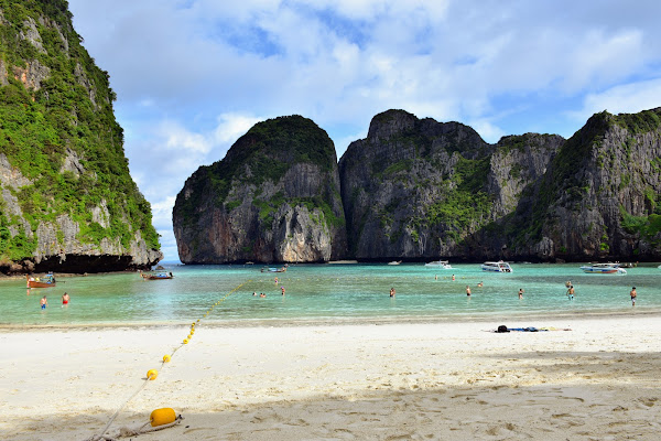 Avoid the crowds at Maya Bay