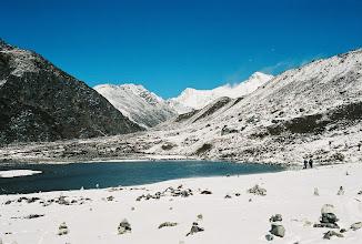 Photo: am ersten Gokyo See
