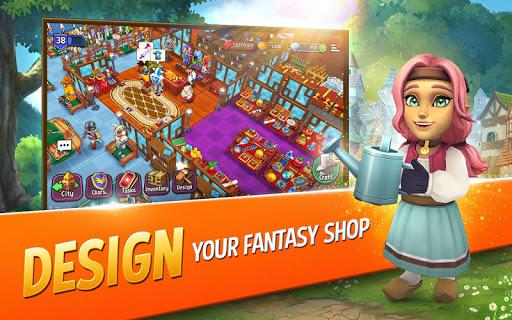 Shop Titans: Epic Idle Crafter, Build & Trade RPG 4.3.0 screenshots 14