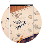 Hand Drawing Theme: College Back to School FREE Icon