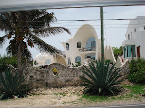 "Photo: ""Shell house"" on Isla Mujeres"