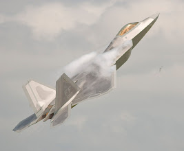 Photo: The Raptor's combination of stealth, supercruise, maneuverability, and integrated avionics, coupled with imporoved supportability, represents an exponential leap in teh warfighting capabilities.