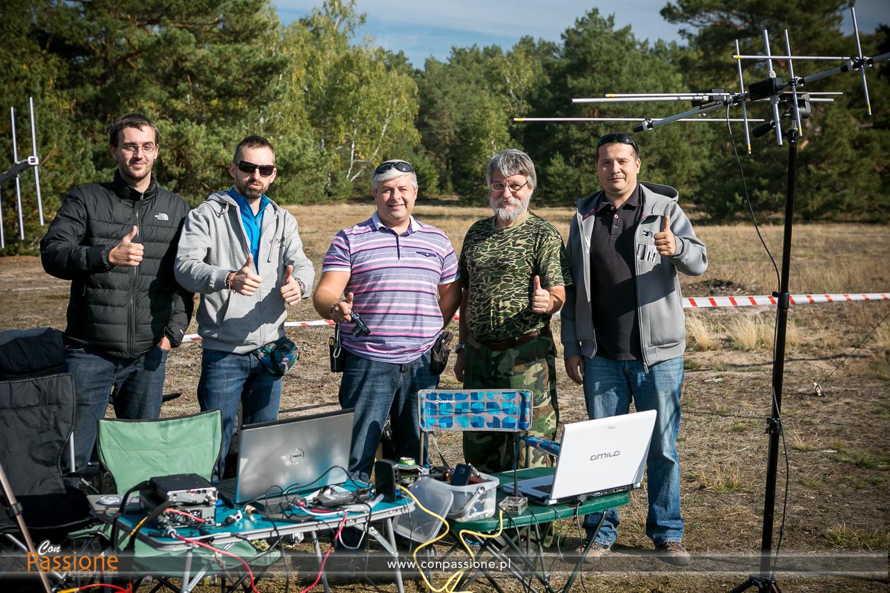 Stratospheric rocket team SQ5RWU, SQ5KTM, SP5MG, SP5IDK, SQ5AM