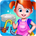 House Kitchen Cleaning icon