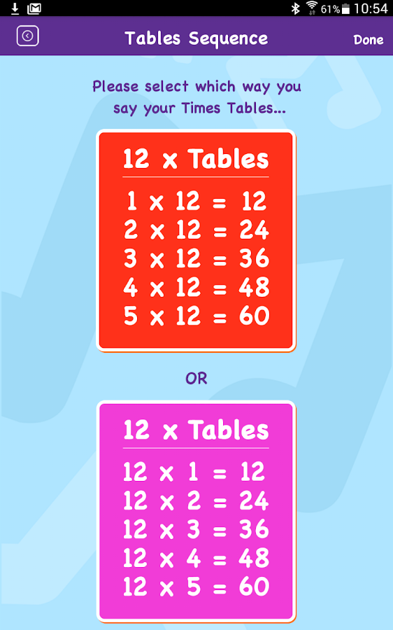 Maths Rockx Times Tables Android Apps On Google Play