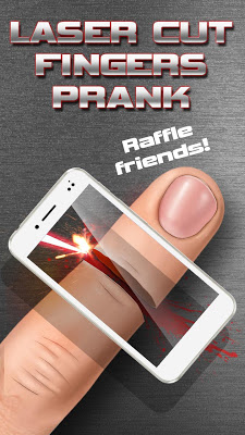 Laser Cut Fingers Prank - screenshot