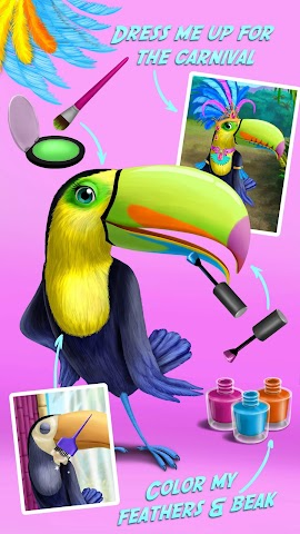 android Jungle Animal Hair Salon FULL Screenshot 3