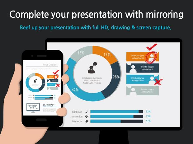 Mobizen Mirroring- screenshot