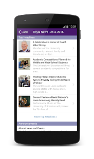 The University of Scranton- screenshot thumbnail