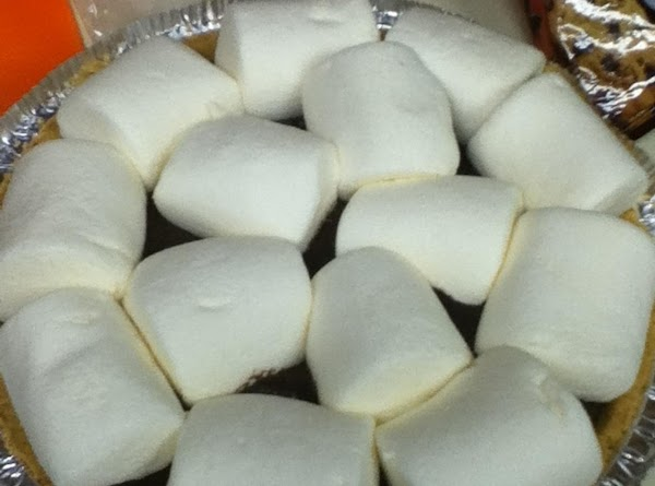Cover the top with marshmallows.