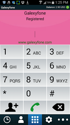 android GalexyFone Screenshot 0