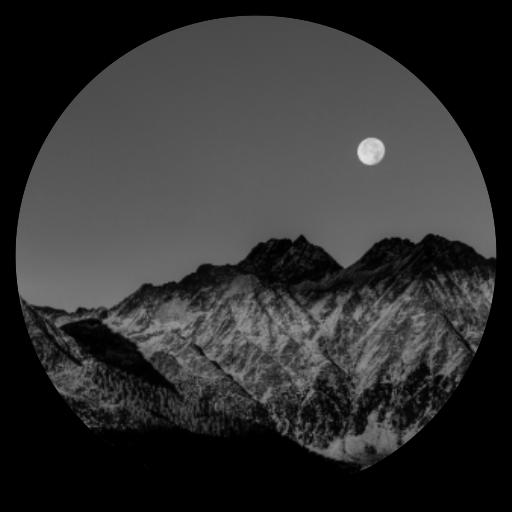 Canyon Theme - Monochrome