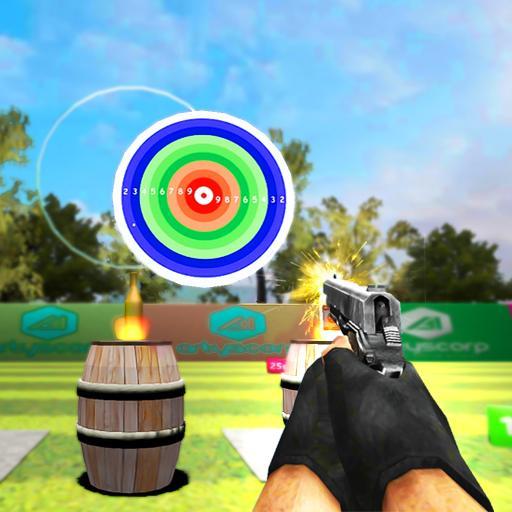 Range Shooting King: Bottle Shoot Academy