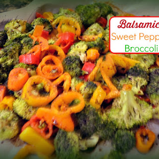 Balsamic Sweet Pepper Broccoli.