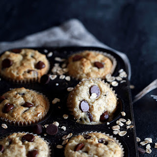 Oatmeal Chocolate Chip Muffins.