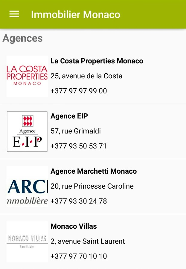 Real Estate Monaco- screenshot