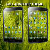 Theme Grass Windows GoLauncher