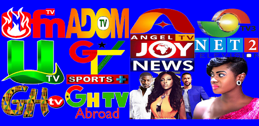 GHANA TV, Adom TV, TV3, UTV, Net2 TV, MOGPA TV, GH - Apps on