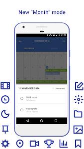 Daily: events, calendar, notes screenshot 7