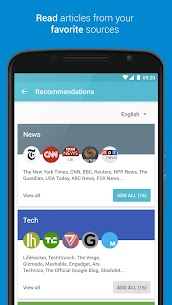 Palabre Feedly RSS Reader News v3.2.4 [Premium] 2