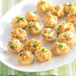 Stuffed Baby Potatoes.