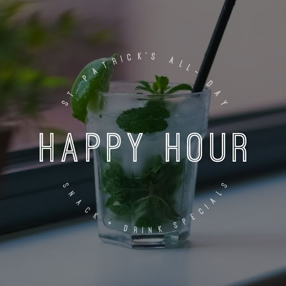 Happy Hour Specials - St. Patrick's Day Template