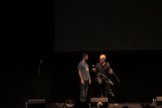 Photo: What we did at night - w00tstock - Wil Wheaton and Adam Savage