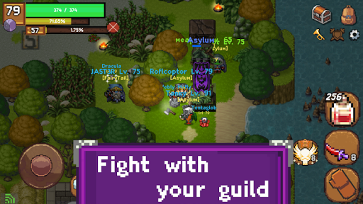 Sword of Legacy - MMORPG 2D 0.2.9 screenshots 5