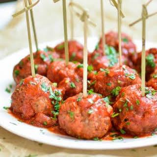 Italian-Style Slow Cooker Meatballs.