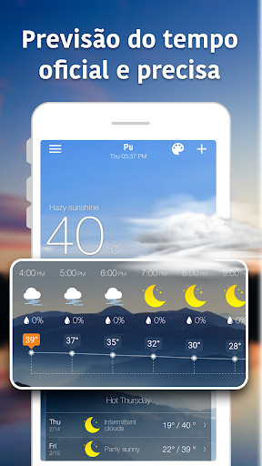 Previsão Meteorológica e Widgets e Radar screenshot 2